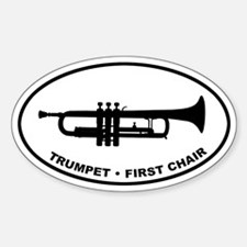 Trumpet - First Chair Decal