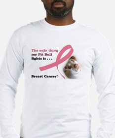 Cute Dogs cancer Long Sleeve T-Shirt