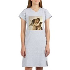 Exquisite First Kiss Angels Women's Nightshirt