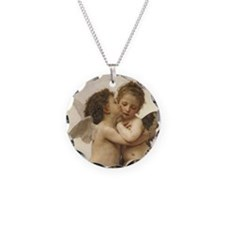 Exquisite First Kiss Angels Necklace