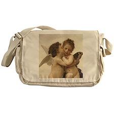 Exquisite First Kiss Angels Messenger Bag
