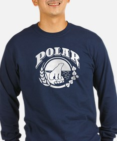 White Cerveza Polar Long Sleeve T-Shirt