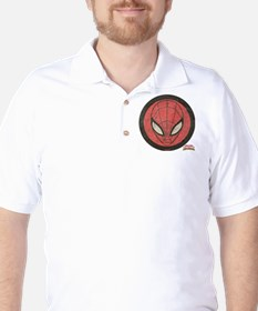 Spider-Girl Icon Vintage Golf Shirt