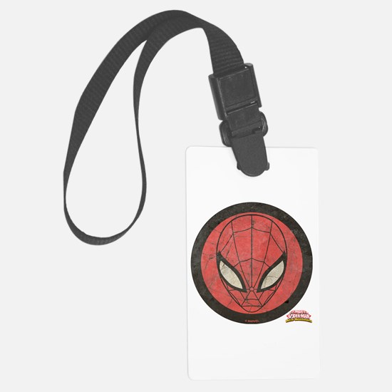 Spider-Girl Icon Vintage Luggage Tag