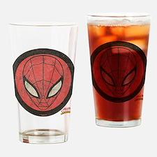 Spider-Girl Icon Vintage Drinking Glass