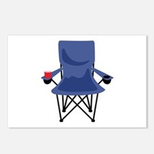 Camping Chair Postcards (Package of 8)