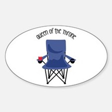 Queen Of The Throne Decal