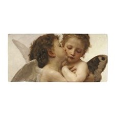 Exquisite First Kiss Angels Beach Towel