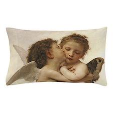Exquisite First Kiss Angels Pillow Case