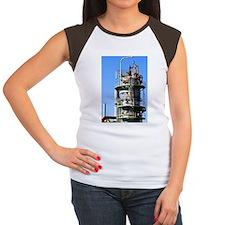 Oil Refinery Women's Cap Sleeve T-Shirt