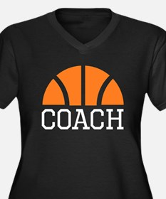 Basketball Coach Plus Size T-Shirt