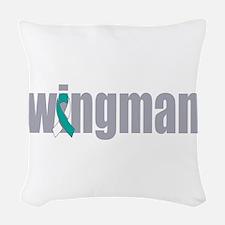 Wingman Woven Throw Pillow