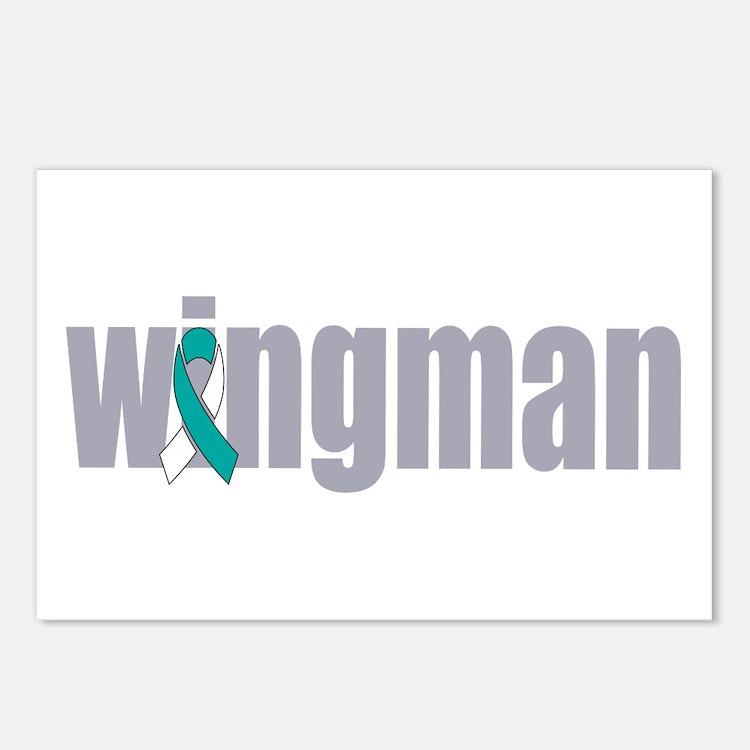 Wingman Postcards (Package of 8)