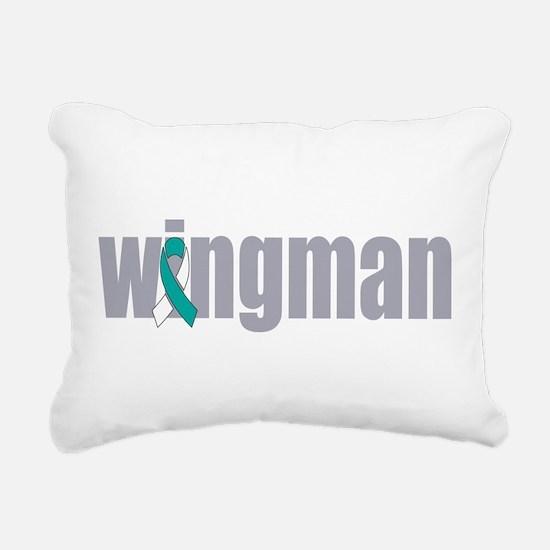 Wingman Rectangular Canvas Pillow