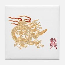 Dragon Seal Tile Coaster