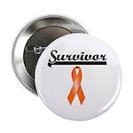 Leukemia Survivor Button