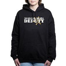 Cute Cop Women's Hooded Sweatshirt