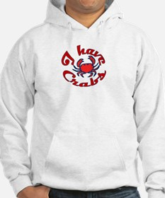 I Have Crabs MD Hoodie