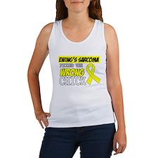 Ewing Sarcoma Wrong Chick Tank Top