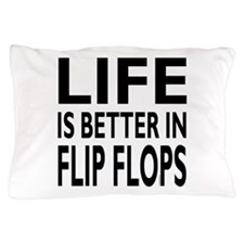 Life Is Better In Flip Flops Napkin Pillow Case