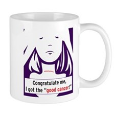 the good cancer woman Mugs