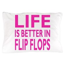 Life Is Better In Flip Flops Block Pink Trans Pill
