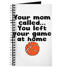 You Left Your Game At Home Journal