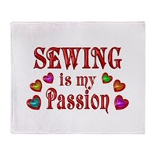 Sewing Passion Throw Blanket