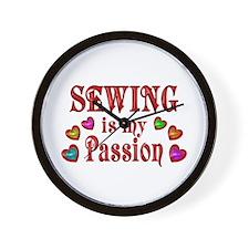 Sewing Passion Wall Clock