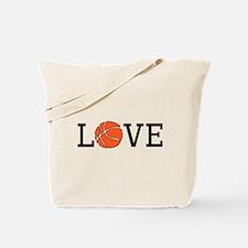 Basketball Love Tote Bag