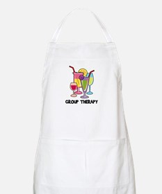 Drinks Group Therapy BBQ Apron