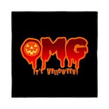 OMG It's Halloween! Queen Duvet