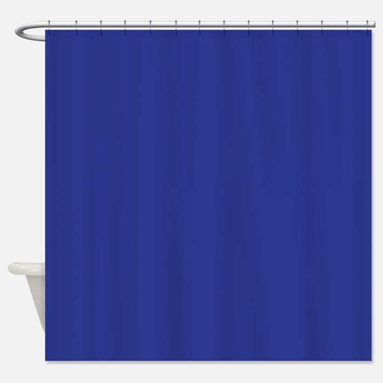 Solid Dark Blue Shower Curtains Solid Dark Blue Fabric Shower Curtain Liner