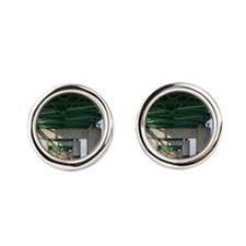Mackinac Bridge Round Cufflinks