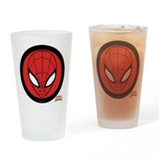 Spider-Girl Icon Drinking Glass