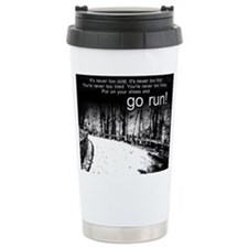 Unique Running Stainless Steel Travel Mug
