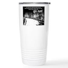 Unique Running Stainless Steel Travel Mug