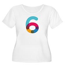 Color6 Plus Size T-Shirt