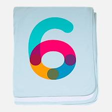Color6 baby blanket