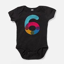 Color6 Baby Bodysuit