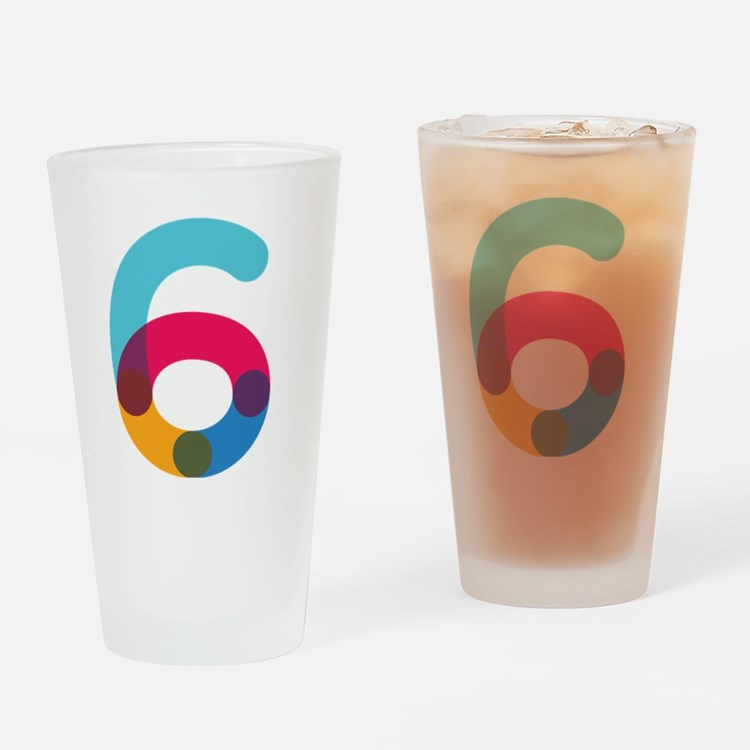Color6 Drinking Glass