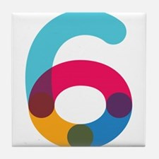 Color6 Tile Coaster