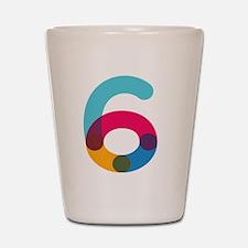 Color6 Shot Glass