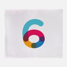 Color6 Throw Blanket
