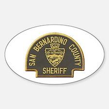 San Bernardino Sheriff Decal