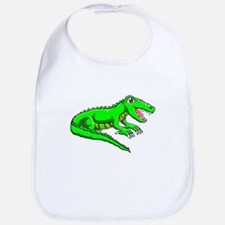 Cute Gator boys Bib