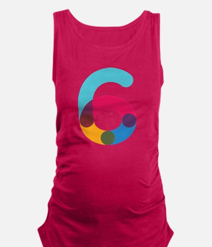 The Number 6 Maternity Tank Top