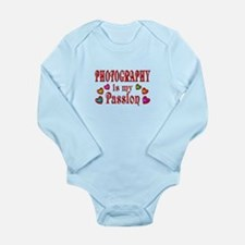 Photography Passion Long Sleeve Infant Bodysuit
