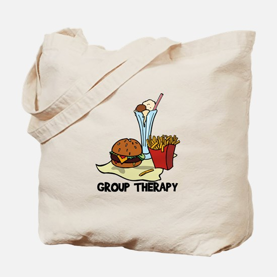 Food Group Therapy Tote Bag