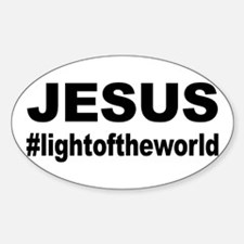 Jesus #lightoftheworld Decal